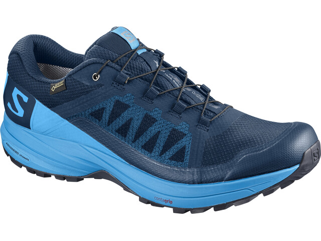 Salomon XA Elevate GTX Shoes Herren poseidon/hawaiian surf/black